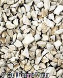 Pedra britada cinza clara nº 2