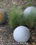 (EN.RE2) Esfera de argamassa decorativa