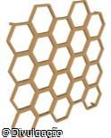 (OT.VA68) Jardim Vertical hexagonal modular