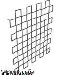 (OT.VA70) Jardim Vertical quadrado modular