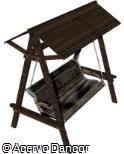 (BL.MA4) Balanço de madeira coberto