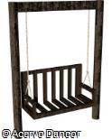 (BL.MA3) Balanço com ripas de madeira